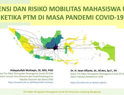 Potensi dan Risiko Mobilitas Mahasiswa ULM Ketika PTM di Masa Pandemi Covid-19