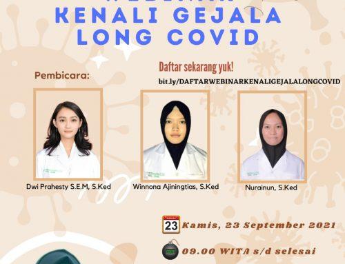 Webinar Kenali Gejala Long Covid-19
